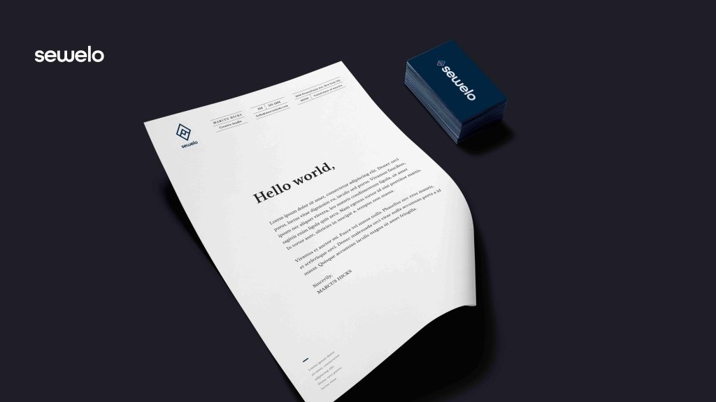 Sewelo Identity by Artraction Media